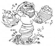 Coloriage et dessins gratuit Skylanders Grilla Drilla à imprimer
