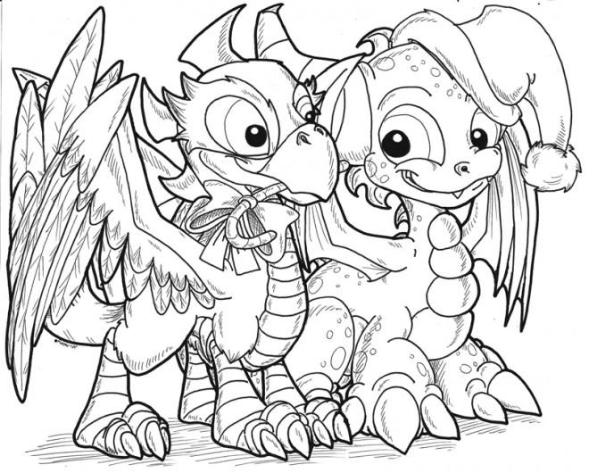 Coloriage et dessins gratuits Skylanders Spyro's Adventure à imprimer
