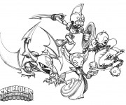 Coloriage Skylanders Swap Force