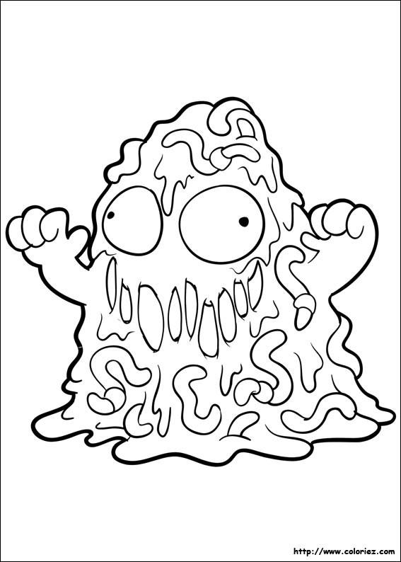 Coloriage et dessins gratuits Slugterra 21 à imprimer