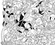 Dessiner en ligne vos coloriages préférés de Sonic