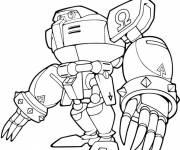 Coloriage adversaire de sonic dessin gratuit imprimer - Dessin anime sonic ...
