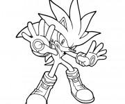 Coloriage Sonic boom à imprimer