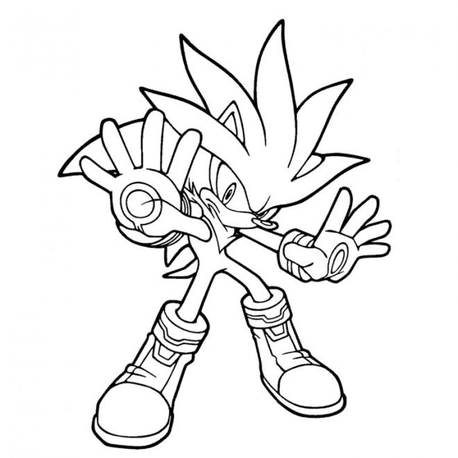 Coloriage Sonic Boom à Imprimer Dessin Gratuit à Imprimer