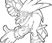 Coloriage sonic en ligne colorier dessin gratuit imprimer - Dessin anime sonic ...