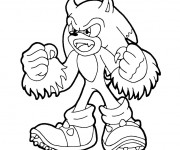 Coloriage et dessins gratuit Sonic Kaijufreak à imprimer