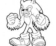 Coloriage Sonic Kaijufreak