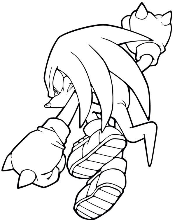 Coloriage et dessins gratuits Sonic X en ligne à imprimer
