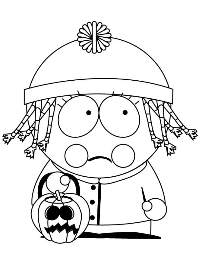 Coloriage et dessins gratuits Bebe Stevens porte un bonnet à imprimer