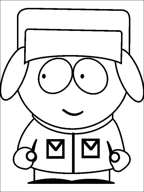 Coloriage et dessins gratuits Kyle regarde à droit en couleur à imprimer