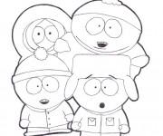 Coloriage dessin  South Park 10