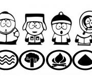 Coloriage dessin  South Park 6