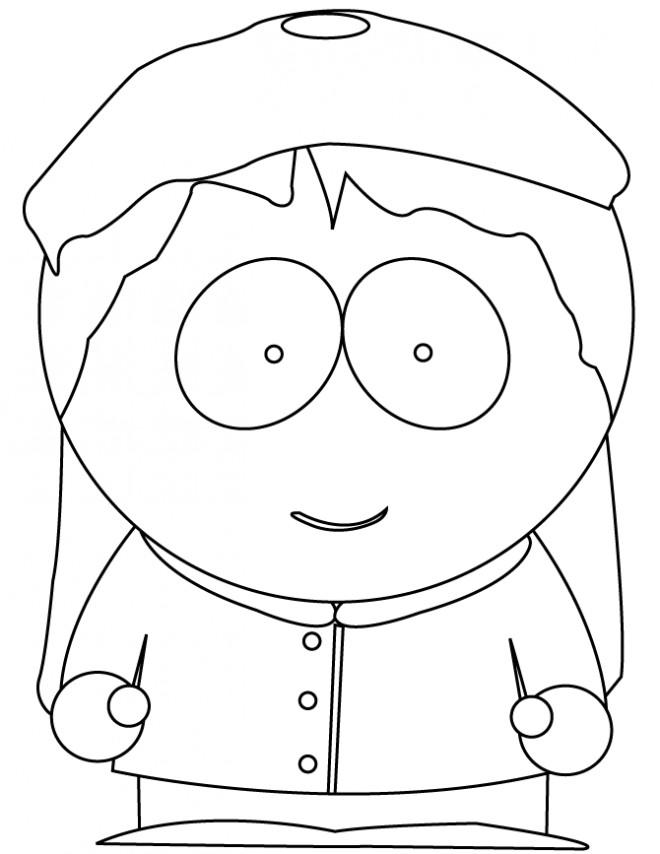 Coloriage et dessins gratuits South Park en ligne à imprimer