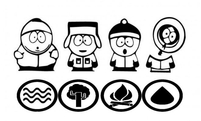 Coloriage et dessins gratuits South Park facile à imprimer