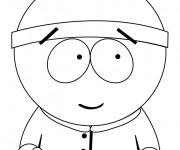 Coloriage Stan surpris dessin en ligne