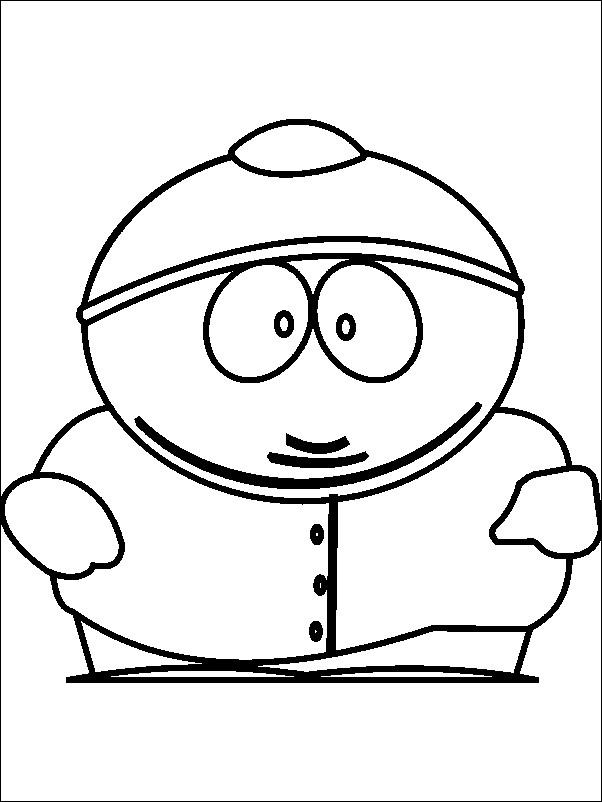 Coloriage et dessins gratuits Trey  parker dessin à imprimer