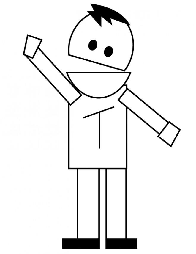 Coloriage et dessins gratuits Trey parker pour enfant à imprimer