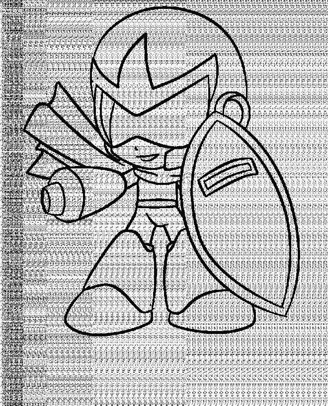 Coloriage et dessins gratuits Speedy Gonzales le robot à imprimer