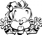 Coloriage et dessins gratuit Spirou 10 à imprimer