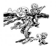 Coloriage et dessins gratuit Spirou 14 à imprimer