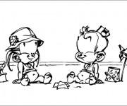 Coloriage et dessins gratuit Spirou 16 à imprimer