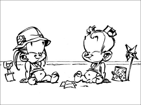 Coloriage et dessins gratuits Spirou 16 à imprimer