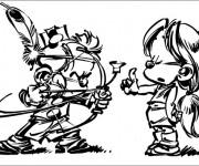 Coloriage et dessins gratuit Spirou 17 à imprimer