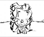Coloriage et dessins gratuit Spirou 18 à imprimer