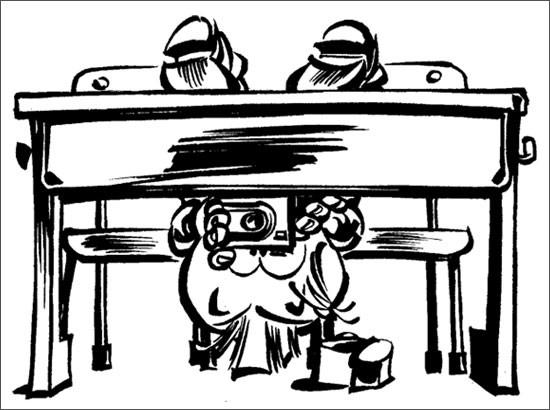 Coloriage et dessins gratuits Spirou 39 à imprimer