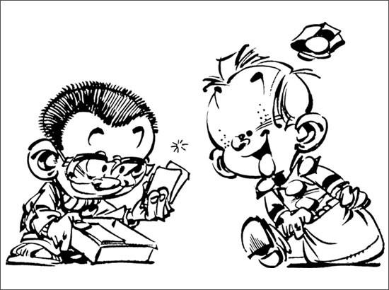 Coloriage et dessins gratuits Spirou 41 à imprimer