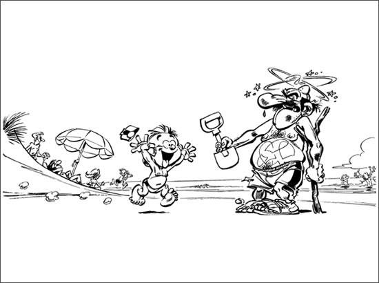 Coloriage et dessins gratuits Spirou 43 à imprimer