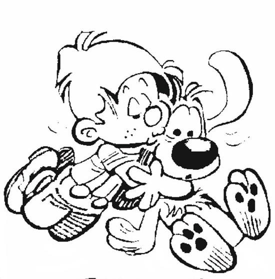 Coloriage et dessins gratuits Spirou 48 à imprimer