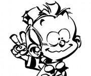 Coloriage et dessins gratuit Spirou 5 à imprimer