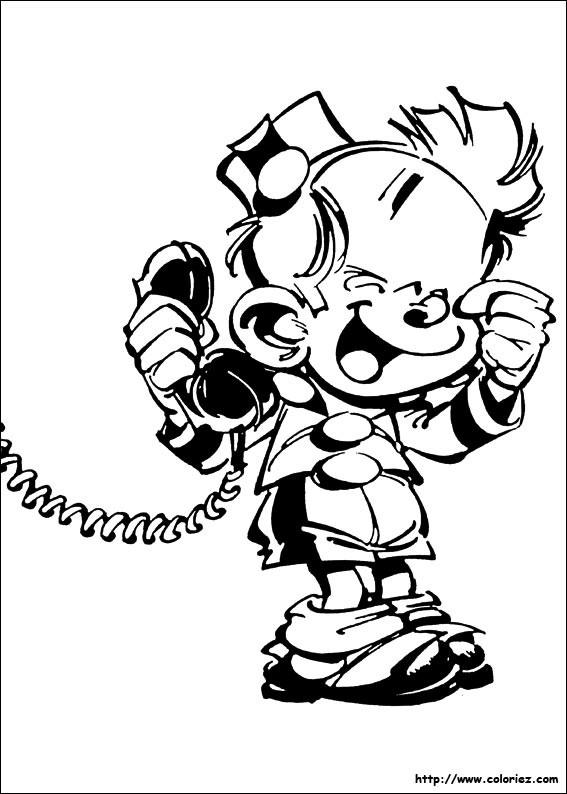 Coloriage et dessins gratuits Spirou 8 à imprimer