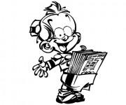 Coloriage et dessins gratuit Spirou 9 à imprimer