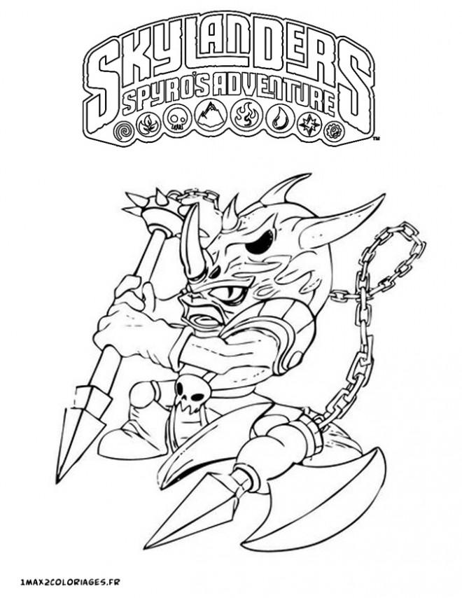 Coloriage et dessins gratuits Spyro 11 à imprimer