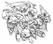 Coloriage Spyro 12