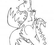 Coloriage et dessins gratuit Spyro 18 à imprimer