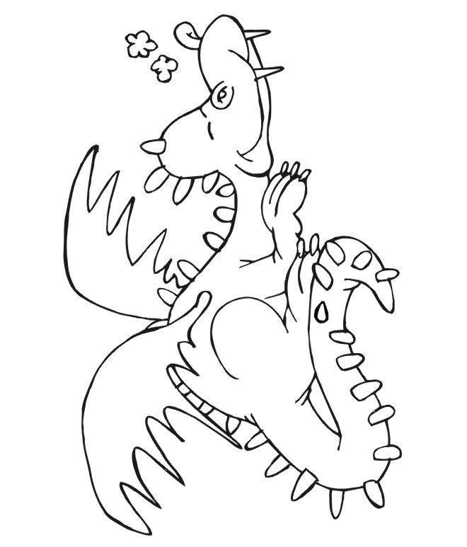 Coloriage et dessins gratuits Spyro 18 à imprimer