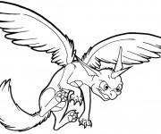 Coloriage et dessins gratuit Spyro 19 à imprimer