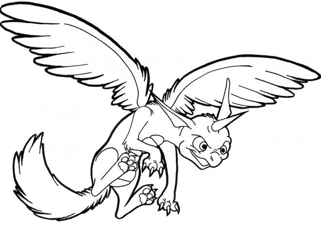 Coloriage et dessins gratuits Spyro 19 à imprimer