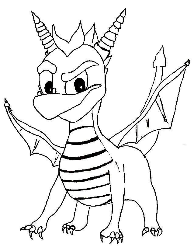 Coloriage et dessins gratuits Spyro 2 à imprimer