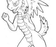 Coloriage et dessins gratuit Spyro 20 à imprimer