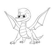 Coloriage et dessins gratuit Spyro 3 à imprimer