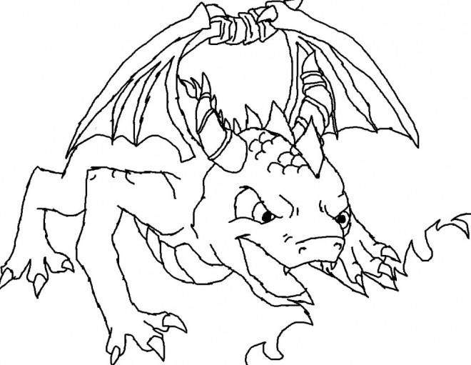 Coloriage et dessins gratuits Spyro 6 à imprimer