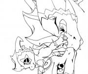 Coloriage Spyro 8