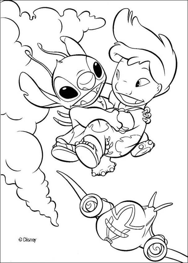 Coloriage Stitch 12 Dessin Gratuit A Imprimer