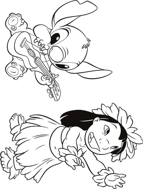 49 Free Disney Coloring Pages Lilo Printable Pdf Download Zip Docx