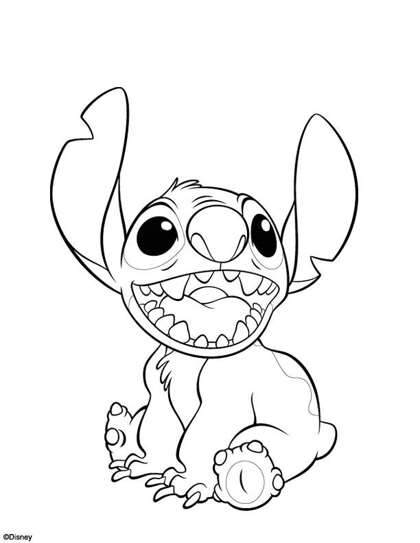 Coloriage et dessins gratuits Stitch 31 à imprimer