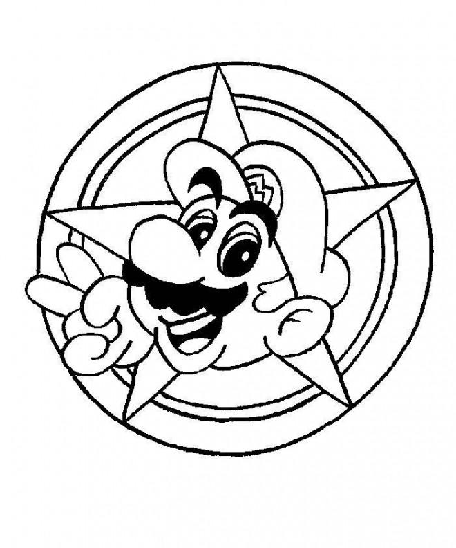 Coloriage Super Mario Jeux Dessin Gratuit A Imprimer
